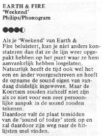 1979, Recensie Weekend