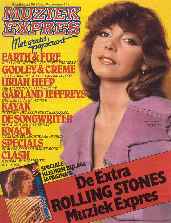 1980, Muziek Express Duitsland cover mei