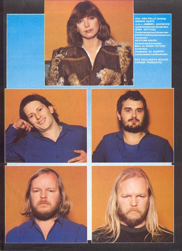 1980, Muziek Parade maart 2