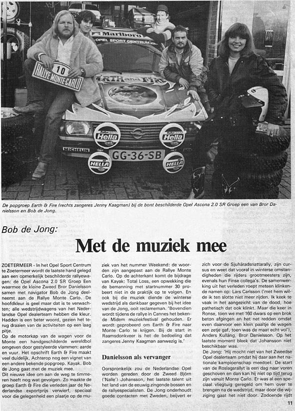 1981, Rallyemontecarlo