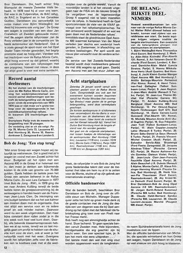 1981, Rallyemontecarlo 2