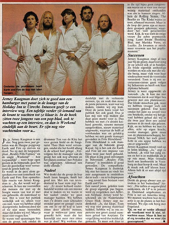 1980, Weekend februari 2