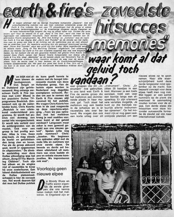 1972, Muziek Expres