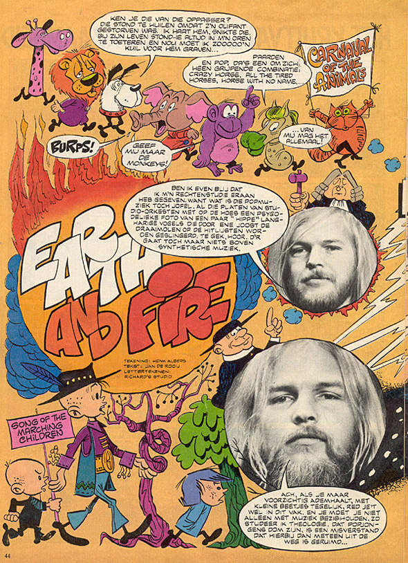 1971, PEP strip