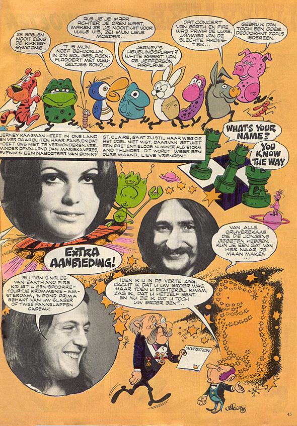 1971, PEP strip 2