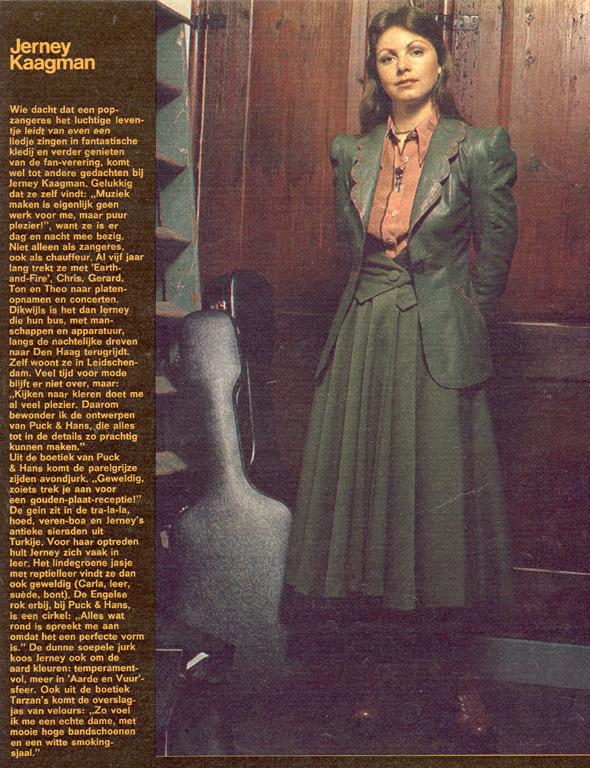1974, Margriet december