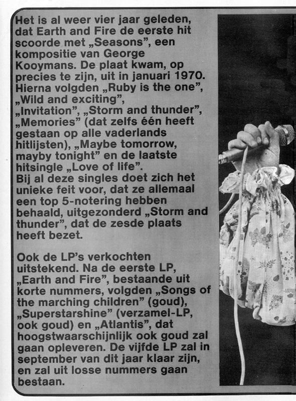 1974, Veronicagids 3