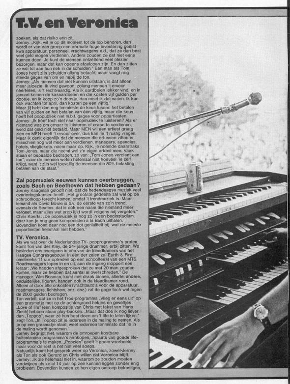 1974, Veronicagids 7