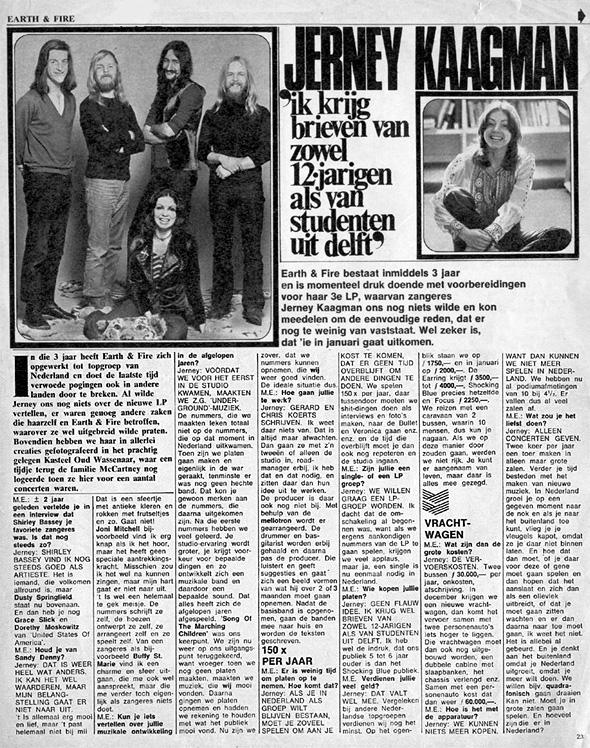 1972, Muziek Expres november