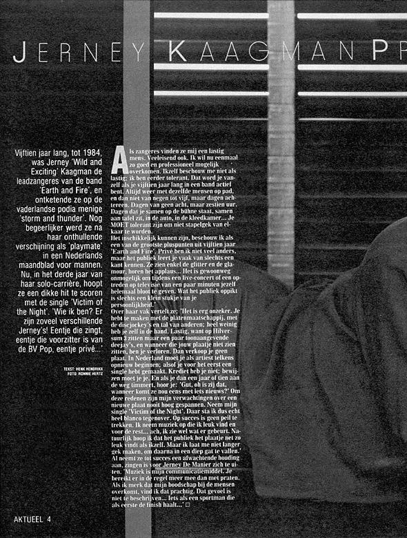 1986, Aktueel 25 oktober 2