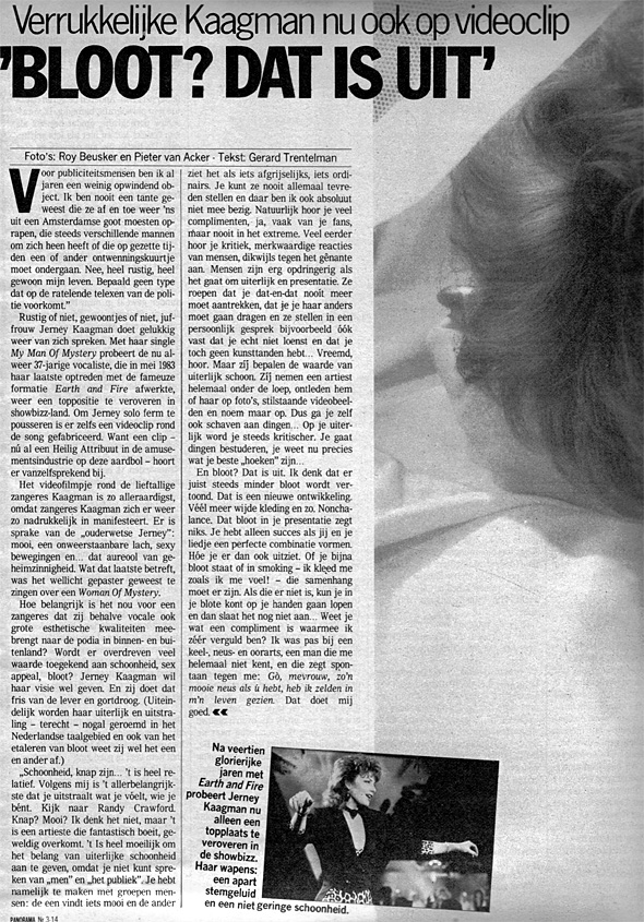 1985, Panorama18 januari