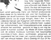 1984, Recensie Made on Earth 1