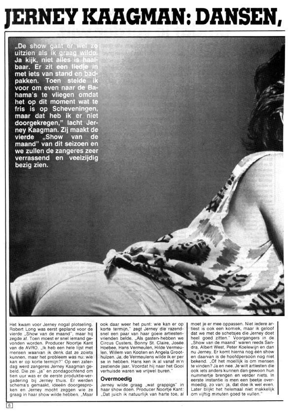 1985, Veronicagids februari