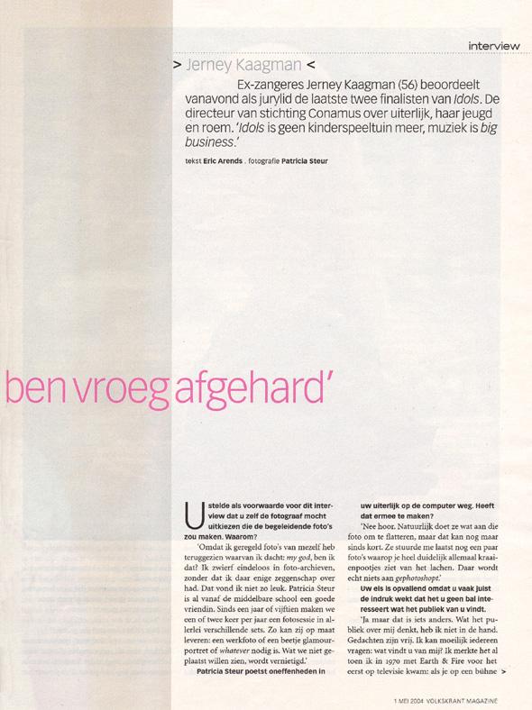 2004, Volkskrant 2