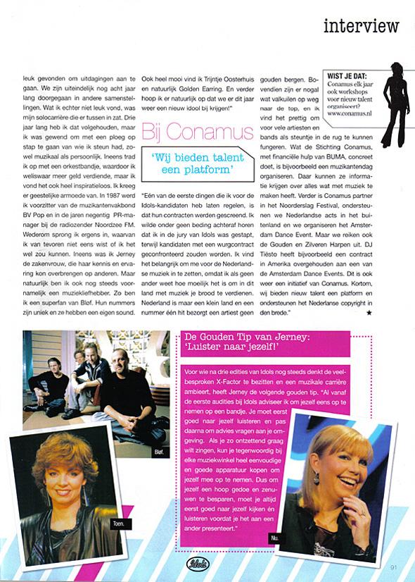 2005, Idolsmagazine 4