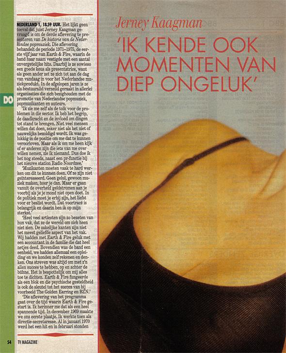 1993, TV-magazine