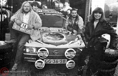 1980, groeprallye